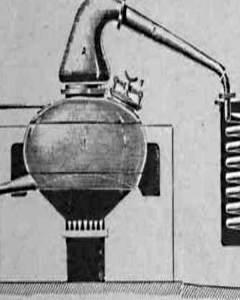 Destillation von Spirituosen