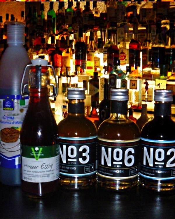 Essig als Cocktailzutat