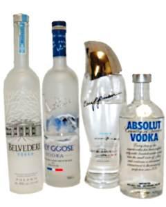 Wodka und Vodka