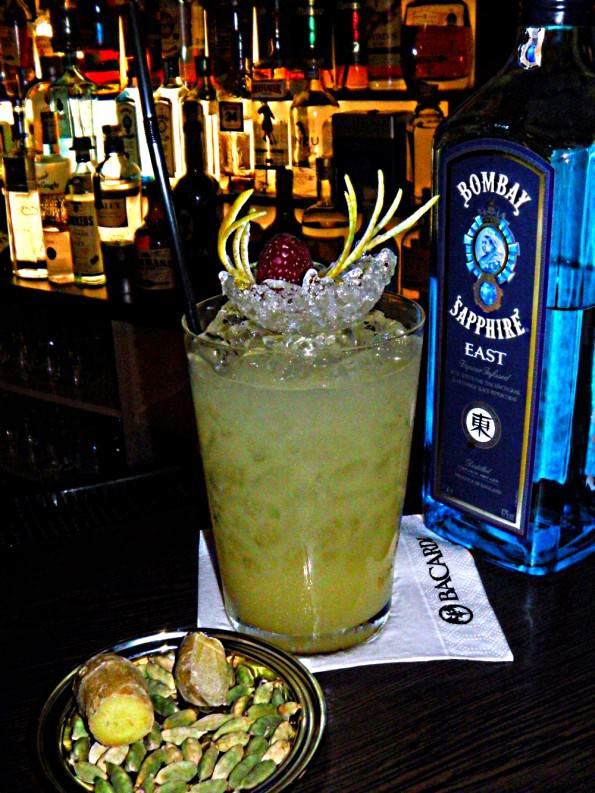 Cocktail mit Birne, Cocktail mit Kardamom