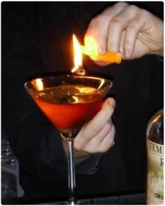 flammbieren mit Zesten